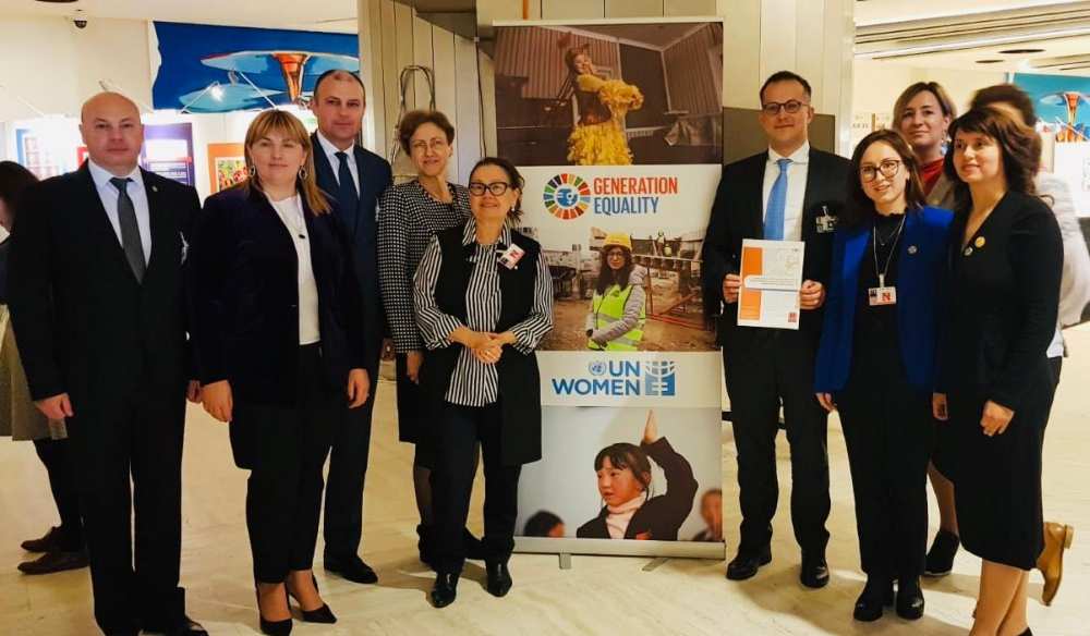 """""""Un viitor în care justiția, egalitatea și oportunitățile sunt pentru toți."""" Moldova prezintă la Geneva tendințele-cheie ale egalității de gen"""